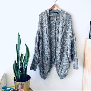 Marciano Wool/acrylic/alpaca blend Knit Cardigan